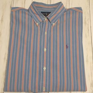 Polo Ralph Lauren Long Sleeve Button Down. Large